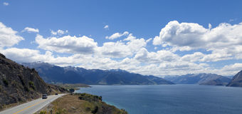 Lac Hawea Photographie stock