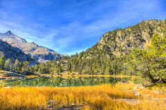 Lac high altitude Photos stock