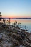 Lac hill de Clarks, parc d'état de gui la Géorgie image libre de droits