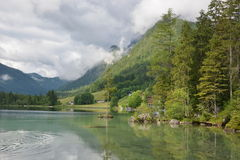 Lac Hintersee photos libres de droits