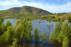 Lac Hodges Photos libres de droits