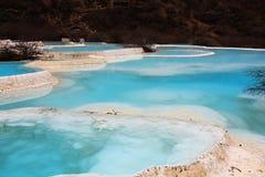 Lac Huanglong Photos libres de droits