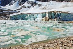 Lac ice Photo libre de droits