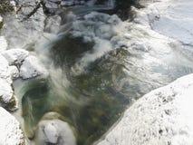 Lac ice Photo libre de droits