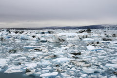 Lac iceberg Photo stock