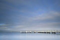 Lac Illawarra jetty Photographie stock libre de droits