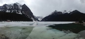 Lac impressionnant Photos libres de droits