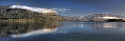 Lac incroyable new Zealand Photographie stock