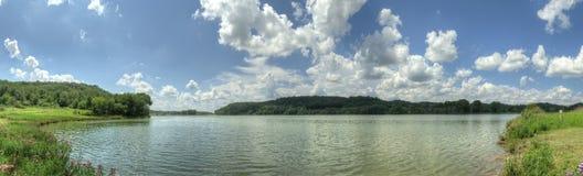 Lac indien - vue à l'ouest Image libre de droits
