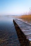 Lac irlandais à l'aube Photographie stock