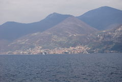 Lac Iseo Photographie stock