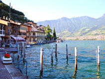Lac Iseo, Italie Photographie stock