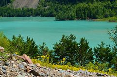 Lac Issyk, parc national, Kazakhstan photos stock