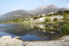 Lac italien Images stock