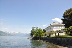 Lac italien célèbre Como Images libres de droits