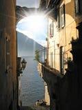 Lac italien Como Photographie stock