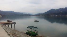 Lac Jablanica dans BiH Image libre de droits