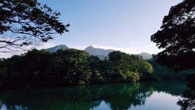 Lac Japon Photo libre de droits