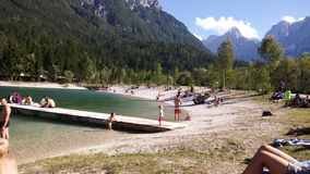 Lac Jasna Images stock