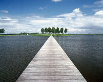 Lac jetty Photographie stock