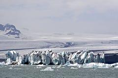 Lac Jokulsarion glacier Photo libre de droits
