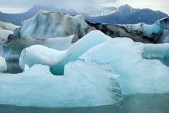 Lac Jokulsarlon, Islande Photos libres de droits