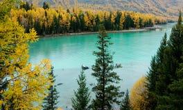 Lac Kanas Photos libres de droits