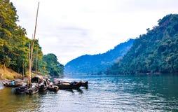 Lac Kaptai images libres de droits