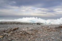 Lac Khuvsgol, Mongolie Image libre de droits