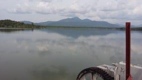 Lac Kimbulwana au Sri Lanka Image stock