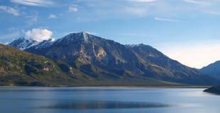 Lac Kluane Photo libre de droits