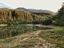 Lac Krinec, Bansko Photos stock