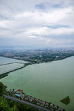 Lac kunming Dianchi Photos libres de droits