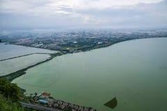 Lac kunming Dianchi Images libres de droits