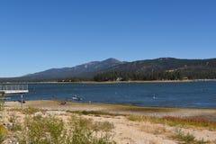Lac la Californie big Bear Images stock