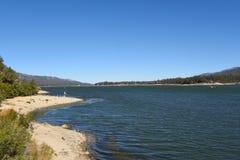 Lac la Californie big Bear Photo stock