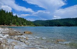 Lac la Californie Jenkinson images libres de droits