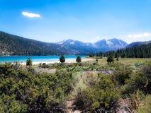Lac la Californie june Photos stock