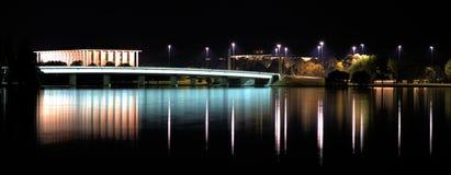 Lac la nuit Images libres de droits