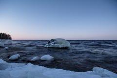 Lac Ladoga images libres de droits