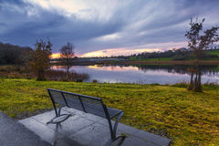 Lac Lannagh Image libre de droits