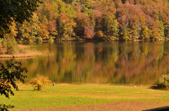 Lac Laudachsee Photo stock