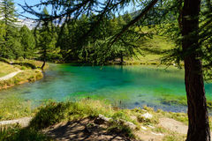 Lac Layet Photographie stock