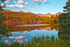 Lac le Colorado Sprague Image stock