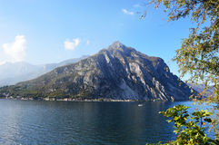 Lac Lecco, Italie Images stock