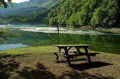 Lac leech Images libres de droits