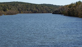 Lac Leesville, la Virginie, Etats-Unis Photo stock