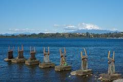 Lac Llanquihue - Puerto Varas - Chili Photographie stock libre de droits