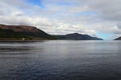 Lac loch ness en Ecosse photographie stock