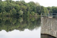 Lac Logan, Logan, Ohio image libre de droits